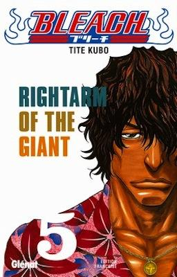 Couverture Bleach, tome 05 : Rightarm of the giant