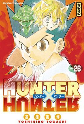 Couverture Hunter X Hunter, tome 26