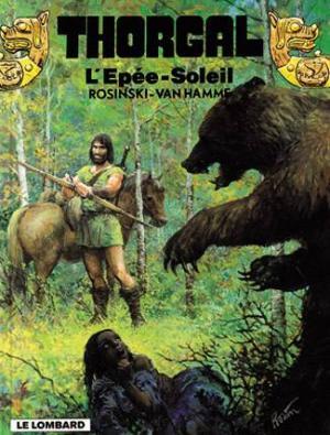 Couverture Thorgal, tome 18 : L'Epée-Soleil