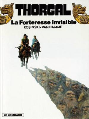 Couverture Thorgal, tome 19 : La Forteresse Invisible