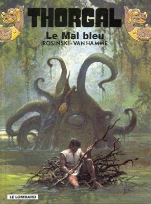 Couverture Thorgal, tome 25 : Le Mal Bleu