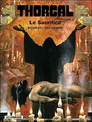 Couverture Thorgal, tome 29 : Le Sacrifice