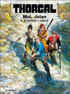 Couverture Thorgal, tome 30 : Moi, Jolan