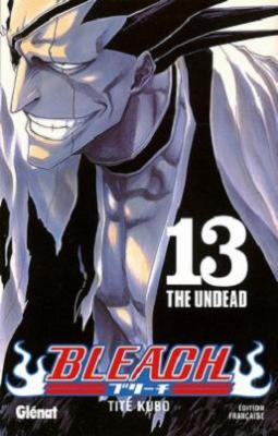 Couverture Bleach, tome 13 : The undead