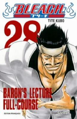Couverture Bleach, tome 28 : Baron's lecture Full-course
