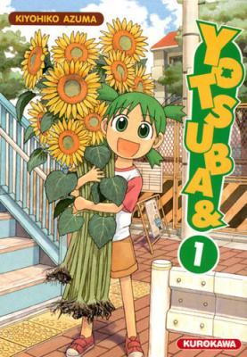 Couverture Yotsuba, tome 01