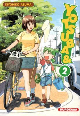 Couverture Yotsuba, tome 02