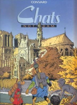 Couverture Chats, tome 1 : Not'Dam