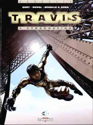 Couverture Travis, tome 05 : Cybernation