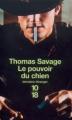 Couverture Le pouvoir du chien Editions 10/18 (Domaine étranger) 2004