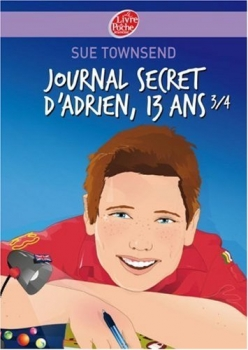 Couverture Journal secret d'Adrien 13 ans 3/4