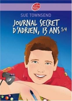 Couverture Journal secret d'Adrien 13 ans 3/4