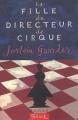 Couverture La fille du directeur de cirque Editions Seuil 2002