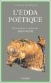 Couverture L'Edda poétique Editions Fayard (Espace Intérieur ) 1992