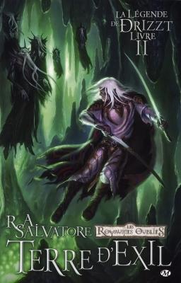 Couverture La Légende de Drizzt (Comics), tome 2 : Terre d'Exil