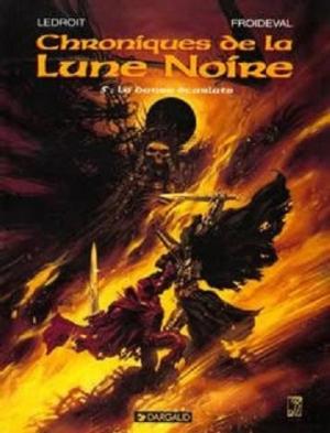 Couverture Chroniques de la Lune Noire, tome 05 : La Danse Ecarlate