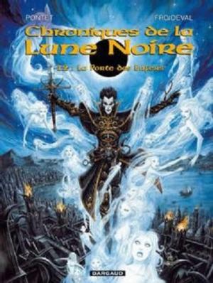Couverture Chroniques de la Lune Noire, tome 12 : La Porte des Enfers