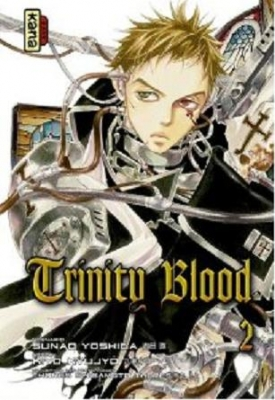Couverture Trinity Blood, tome 02