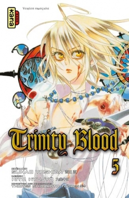 Couverture Trinity Blood, tome 05