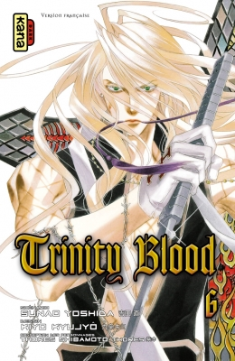 Couverture Trinity Blood, tome 06
