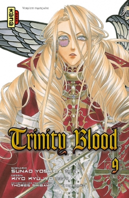 Couverture Trinity Blood, tome 09