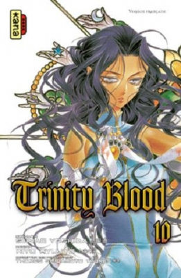 Couverture Trinity Blood, tome 10