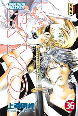 Couverture Samurai Deeper Kyo, tome 36
