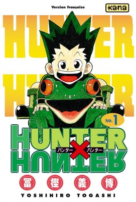 Couverture Hunter X Hunter, tome 01