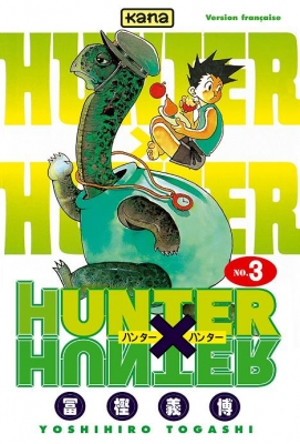 Couverture Hunter X Hunter, tome 03