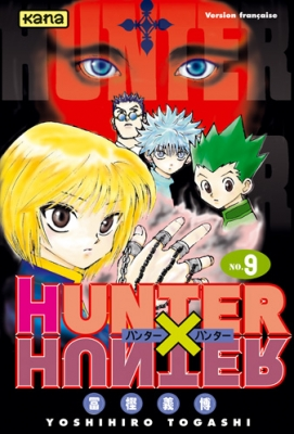 Couverture Hunter X Hunter, tome 09
