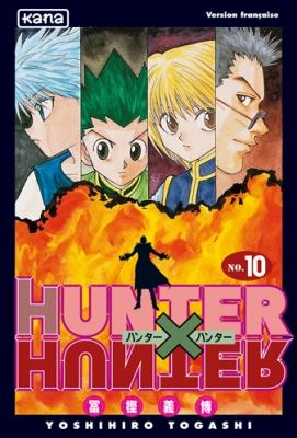Couverture Hunter X Hunter, tome 10
