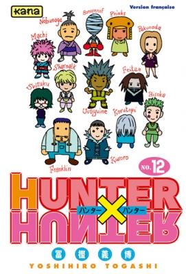 Couverture Hunter X Hunter, tome 12
