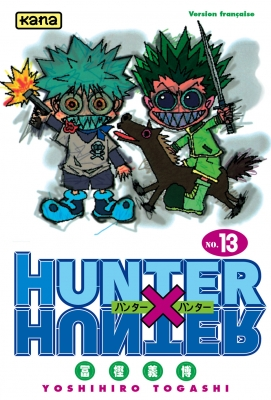 Couverture Hunter X Hunter, tome 13