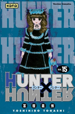 Couverture Hunter X Hunter, tome 15