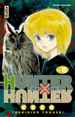 Couverture Hunter X Hunter, tome 18