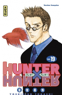 Couverture Hunter X Hunter, tome 19