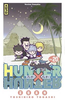 Couverture Hunter X Hunter, tome 20