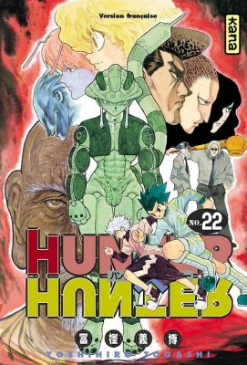 Couverture Hunter X Hunter, tome 22