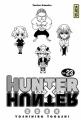 Couverture Hunter X Hunter, tome 23 Editions Kana 2006