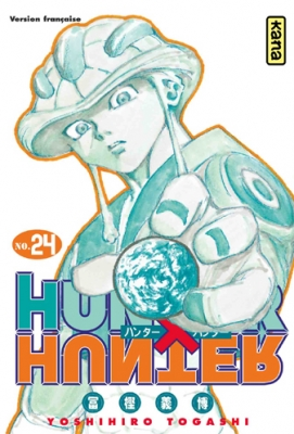 Couverture Hunter X Hunter, tome 24
