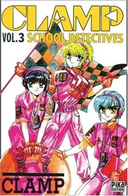 Couverture Clamp School Detectives, tome 3