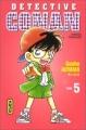 Couverture Détective Conan, tome 05 Editions Kana 1997