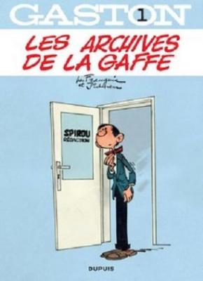Couverture Gaston, tome 01 : Les archives de la Gaffe