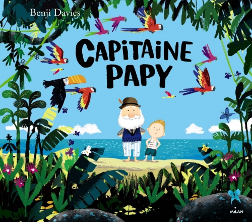 Couverture Capitaine Papy