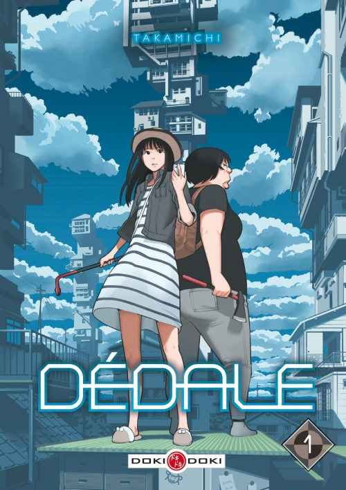 Couverture Dédale, tome 1