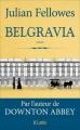 Couverture Belgravia Editions JC Lattès 2016