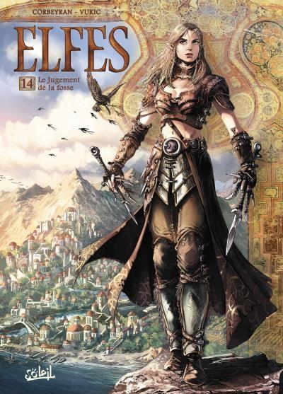 Couverture Elfes, tome 14 : Le jugement de la fosse