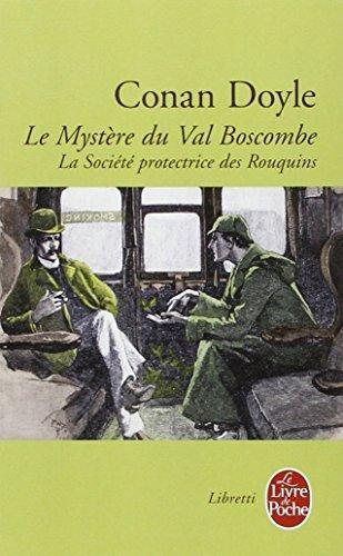 Couverture Le mystère du Val Boscombe & la société protectrice des rouquins