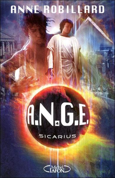 Couverture A.N.G.E., tome 04 : Sicarius