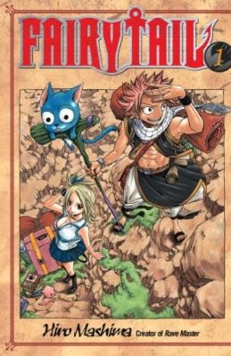Couverture Fairy Tail, tome 01